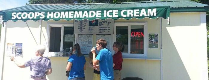 Scoops Homemade Ice Cream is one of Maine!.
