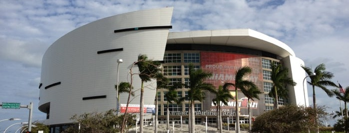 American Airlines Arena is one of Where I have been.