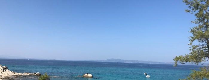 Orange Beach-Sarti is one of Sithonia.