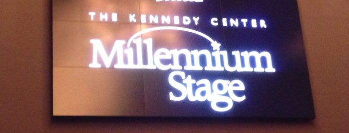 Kennedy Center Millennium Stage is one of 2013 DC Jazz Festival Venues.