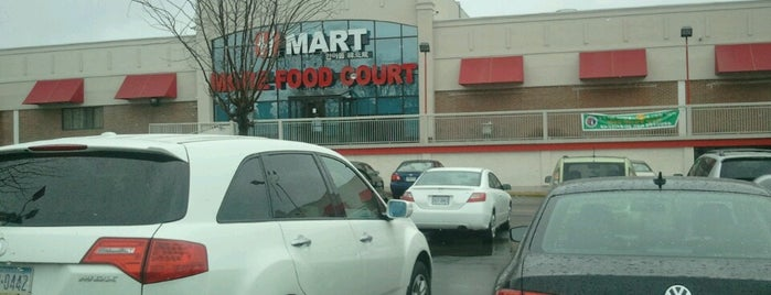 H Mart is one of Alyssa's Philly Life.