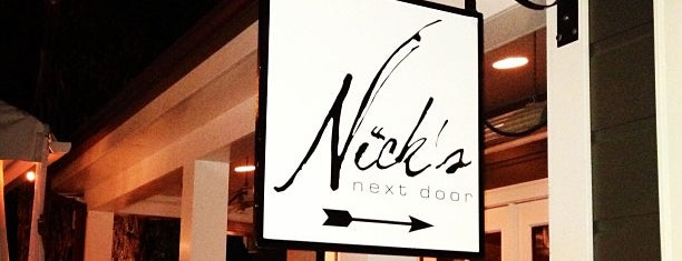 Nick's Next Door is one of Food.