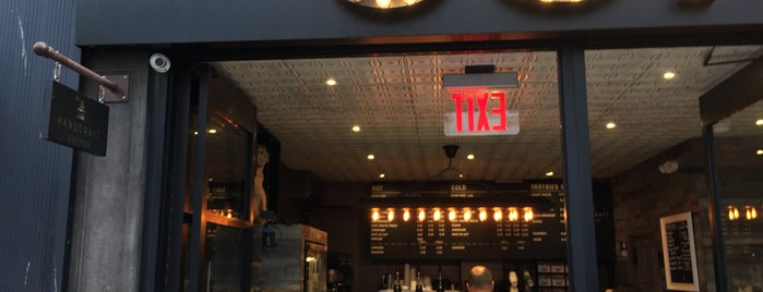 Handcraft Coffee is one of New York's Best Coffee Shops - Manhattan.
