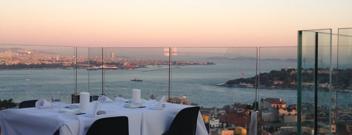 Mikla is one of Istanbul - Turkey - Peter's Fav's.