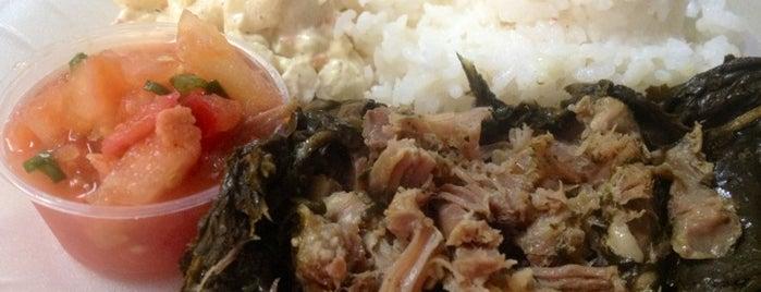 Ka'aloa's Super J's Authentic Hawaiian Food is one of Big Island.