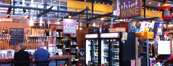 Thief Wine Bar is one of The 15 Best Places for Wine in Milwaukee.