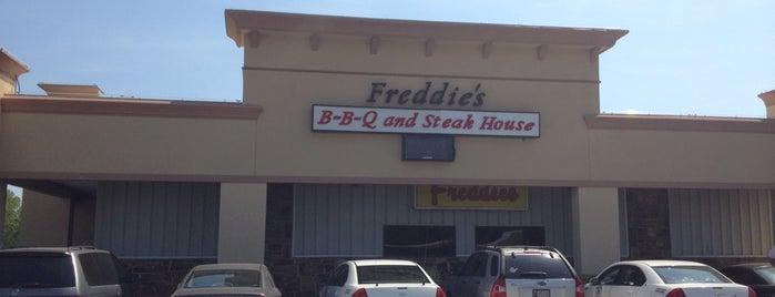 Freddie's Steak House is one of Food.