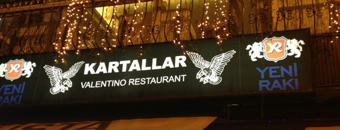 Kartallar Valentino Restaurant is one of meyhanedeyiz.biz.