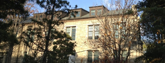 Case Hall / Graduate School Building is one of Korean Early Modern Architectural Heritage.