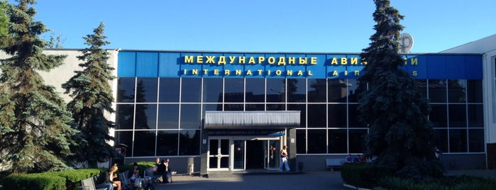 Международный аэропорт Симферополь is one of Airports in Europe, Africa and Middle East.