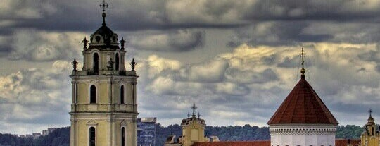 Vilnius Old Town is one of UNESCO World Heritage Sites.