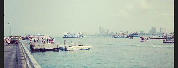 Bali Hai Pier is one of พัทยา.