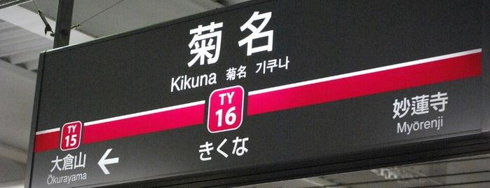 Kikuna Station is one of Station - 神奈川県.