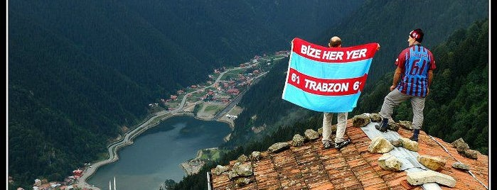 Uzungöl is one of BORDO MAVİ MEKANLAR.