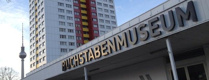 BuchstabenMuseum is one of #MuseumMarathon Berlin 2014.