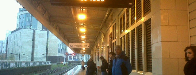 Platform 1 is one of Railway stations I've been to.