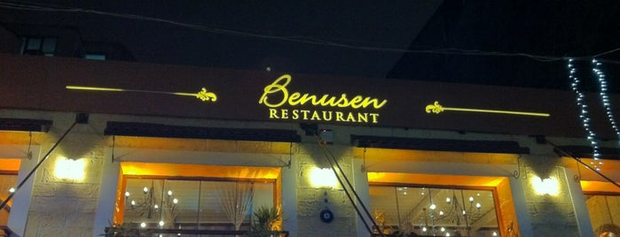 Benusen Restaurant is one of meyhanedeyiz.biz.