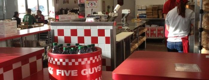 Five Guys is one of Top Restaurants in Lubbock.