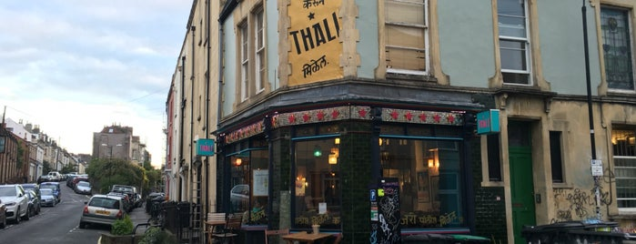 The Thali Cafe is one of Must-visit places in Bristol, UK.