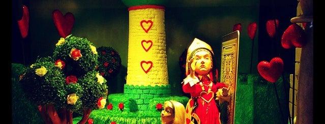 Fenwick's Christmas Window is one of Newcastle Upon Tyne.