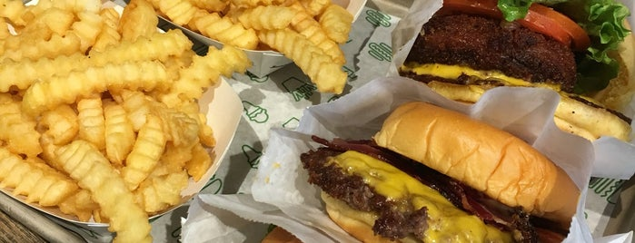 Shake Shack is one of Favorite Spots to Eat.