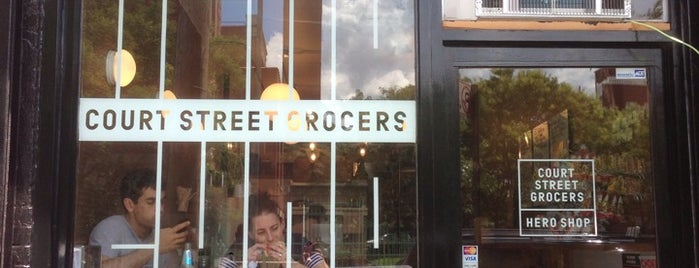 Court Street Grocers Hero Shop is one of New Adventures.
