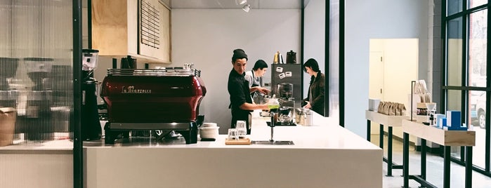 Blue Bottle Coffee is one of NYC Coffee.