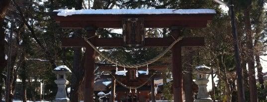 住吉神社 is one of Shinto shrine in Morioka.