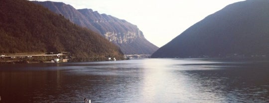 Lago di Lugano is one of Beach.