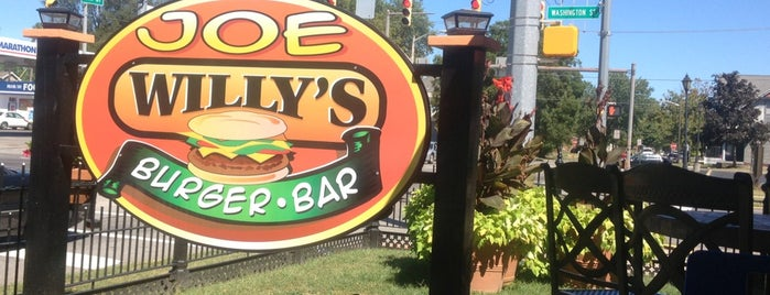 Joe Willy's Burger Bar is one of Mel's Faves :).