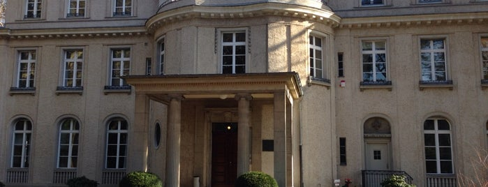 House of the Wannsee Conference is one of Berlin for free.