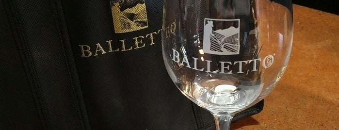 Balletto Vineyards & Winery is one of Sonoma.