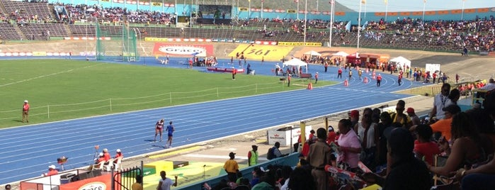 Track is one of Jamaica.