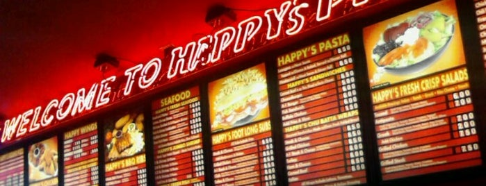 Happy's Pizza is one of q.