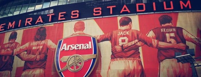 Emirates Stadium is one of Barclays Premier League Stadiums 2013-14 Season.