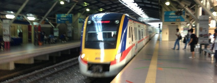 KTM Line - Mid Valley Station (KB01) is one of Local Services.