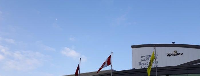 Waterloo Memorial Recreation Complex is one of Kitchener Waterloo Oktoberfest Festhallen.
