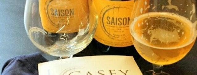 Casey Brewing & Blending is one of Beer / RateBeer's Top 100 Brewers [2015].
