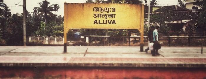 Aluva Railway Station is one of Kerala.