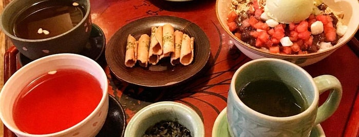Hwa Sun Ji Tea House is one of WiFi-friendly and/or Laptop-ready in SFValley+.