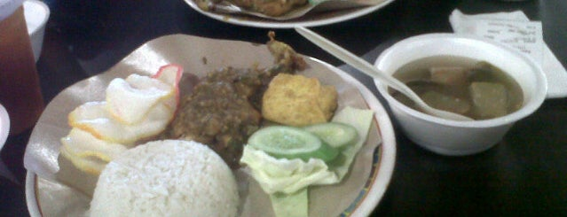 Food Court LT. 5 Blok M Square is one of Favorite Food.
