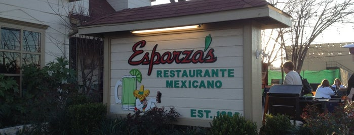 Esparza's Restaurante Mexicano is one of Must-visit Food in Grapevine.