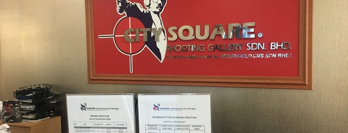 City Square Shooting Gallery is one of Go Outdoor, MY #6.