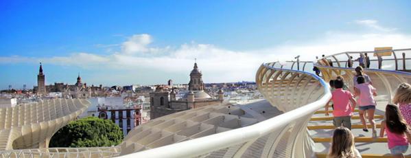 Metropol Parasol is one of Sevilla con niños.