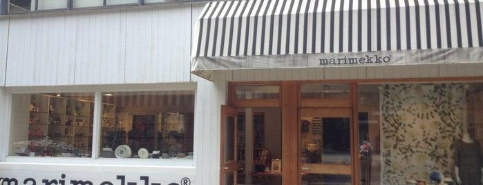 marimekko 大阪店 is one of 大阪.