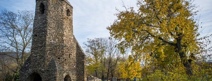 Avasi rom is one of Beautiful Árpád era churches around Balaton.