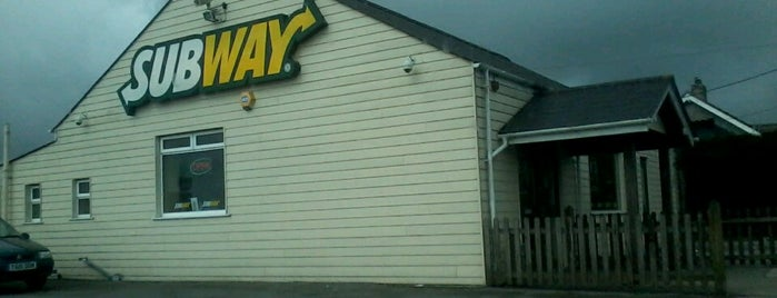Subway is one of Truckstops And Other Places To Park Overnight.