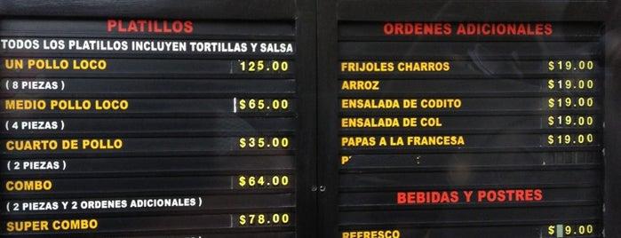 El Pollo Loco is one of Must-visit Food in Monterrey.