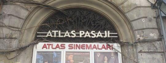 Atlas Sineması is one of Lale Kart Buluşma Noktaları.