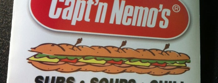 Capt'n Nemo is one of Favorite Food.